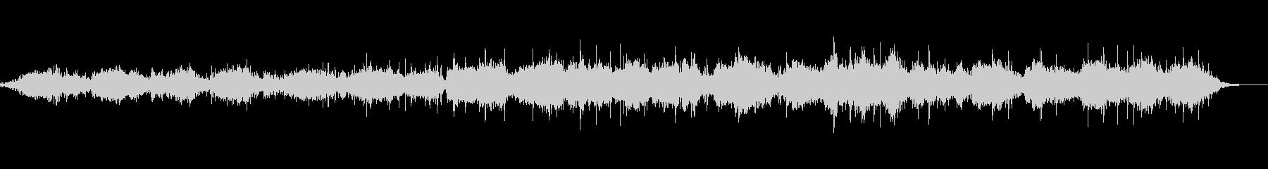 環境音とピアノの作品 ショートVer.の未再生の波形