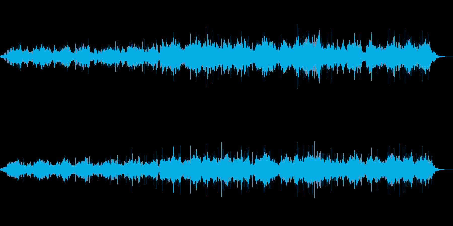環境音とピアノの作品 ショートVer.の再生済みの波形