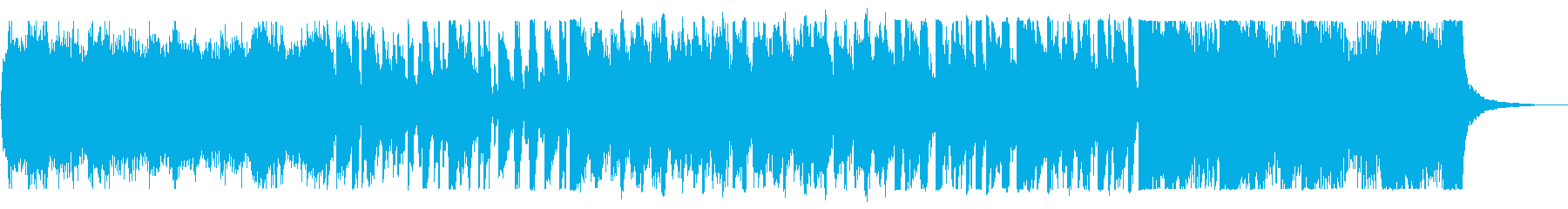 KANTクールな商品紹介用BGMの再生済みの波形
