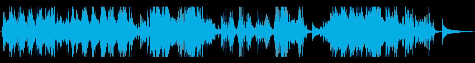 日常の中のピアノ・ソロの再生済みの波形