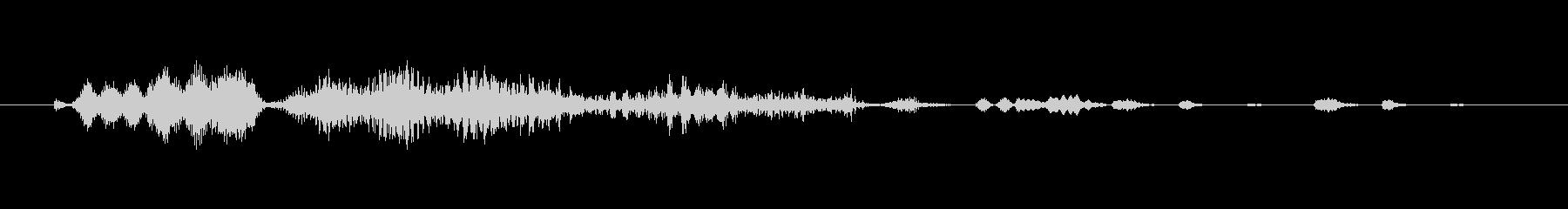 フィクション 電力装置 変動グリッチ04の未再生の波形