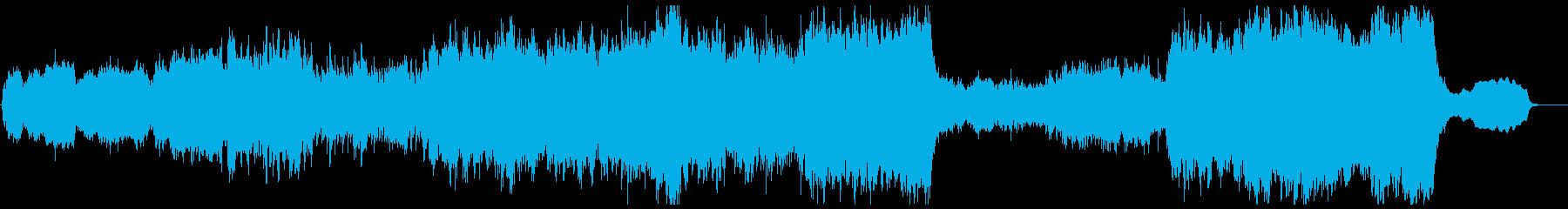 幻想的で壮大なオーケストラ(リズムアリ)の再生済みの波形