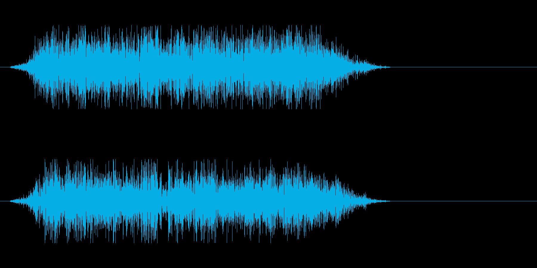 モンスターの雄叫び 3の再生済みの波形