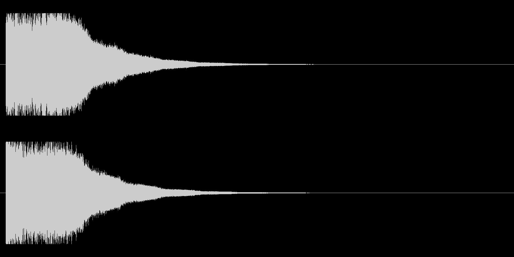 レーザー音-85-2の未再生の波形