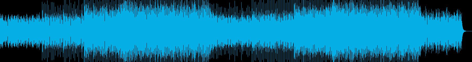 EDMクラブ系ダンスミュージック-29の再生済みの波形