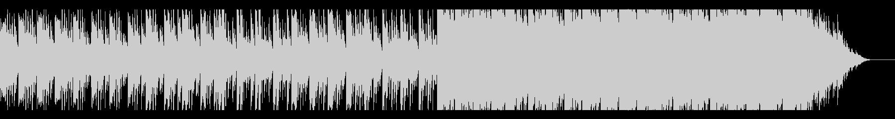 繊細で癒されるアンビエント風ピアノの曲の未再生の波形