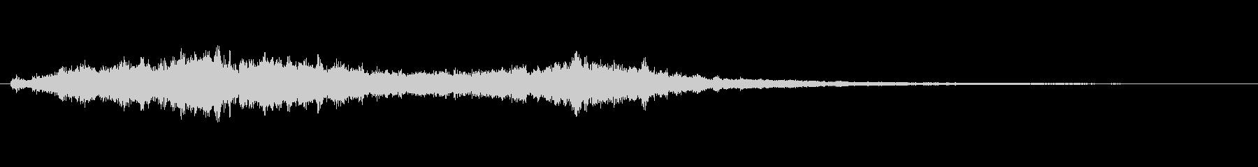 ボコーダ ボコーダーボーカル04の未再生の波形
