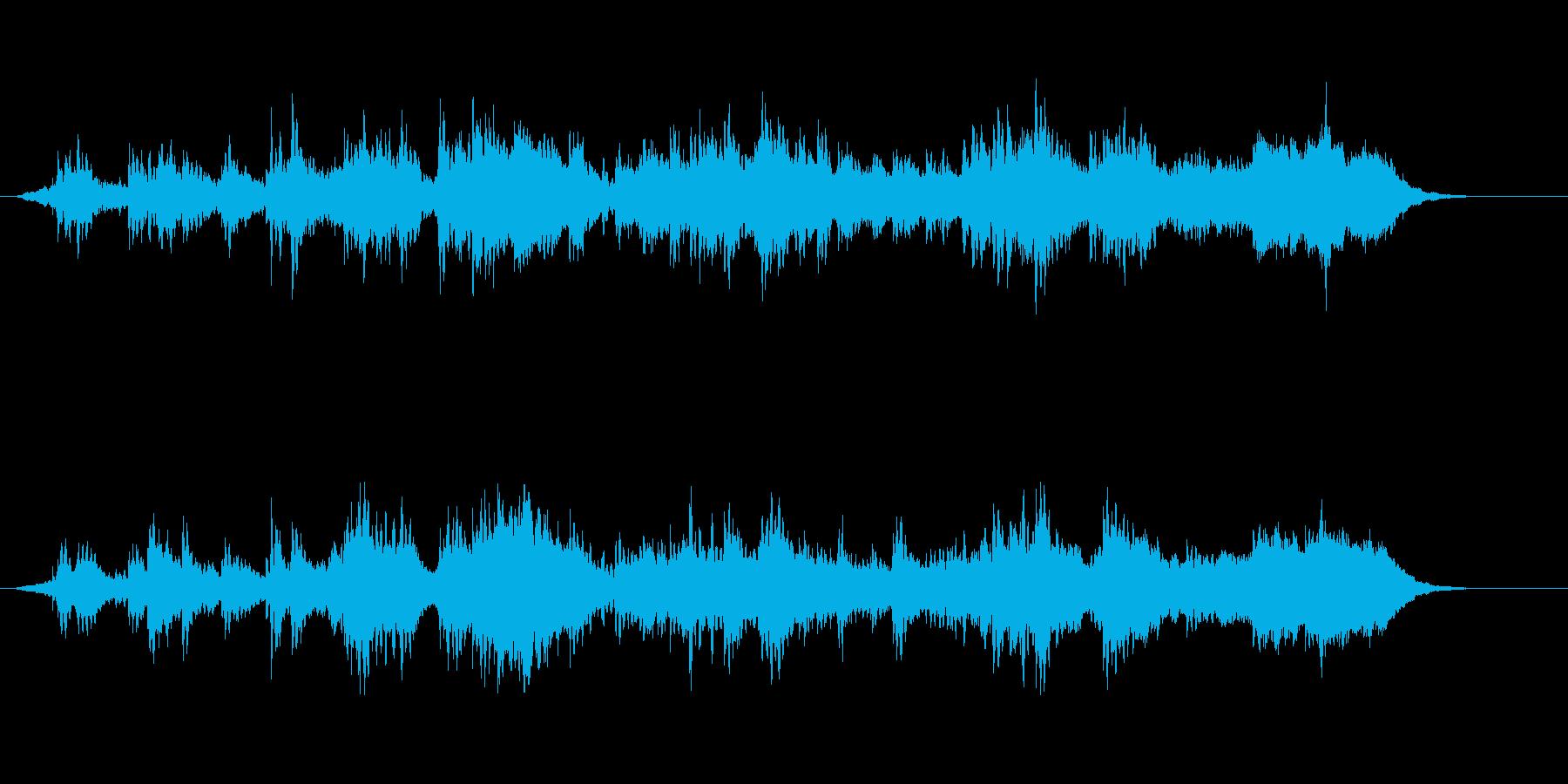 環境音楽(サイエンス・タッチ)の再生済みの波形