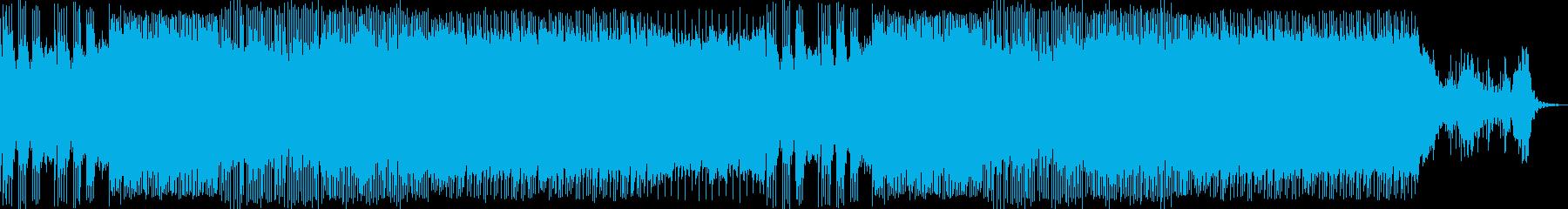 落ち着きのある和風ハウス 生演奏三味線の再生済みの波形