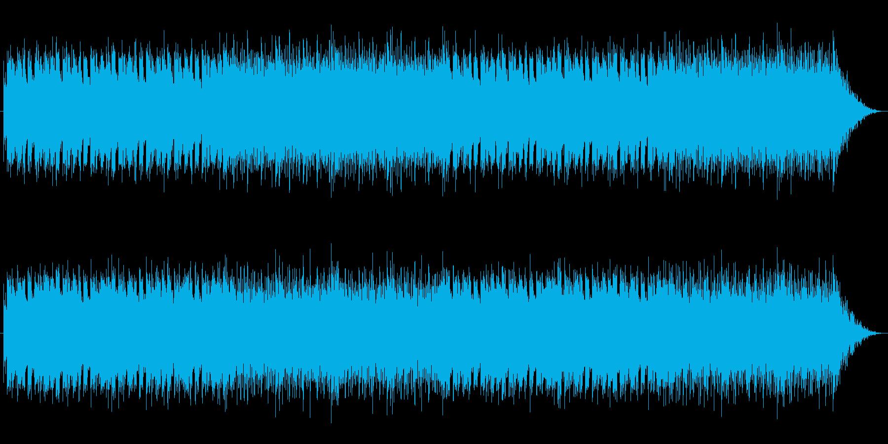 幻想的で近未来的なEDMの再生済みの波形