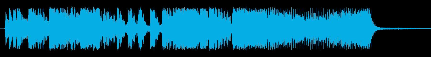 シネマティック コーポレートの再生済みの波形