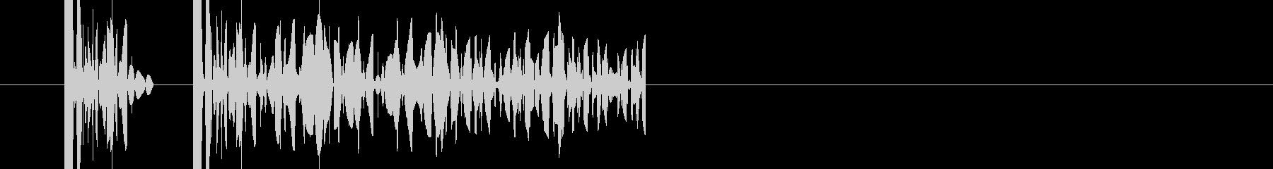 クイズ 不正解 違う時 の未再生の波形