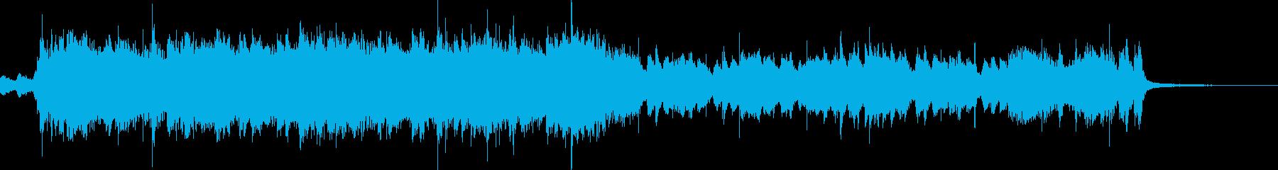 元気なスカパンクのイントロの再生済みの波形