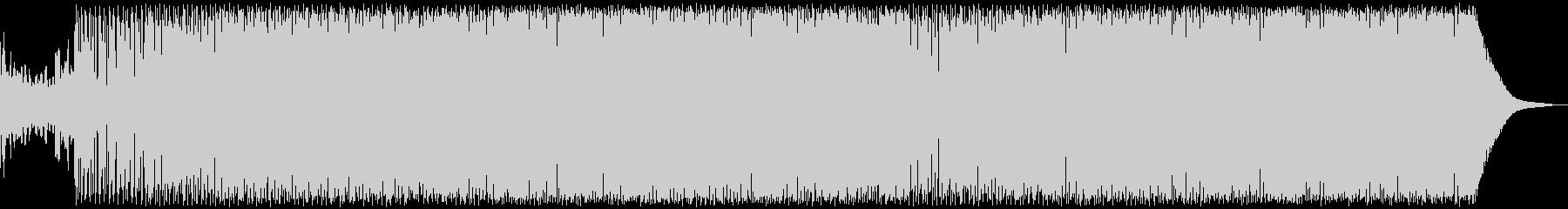 ピアノによるGarge Houseの未再生の波形