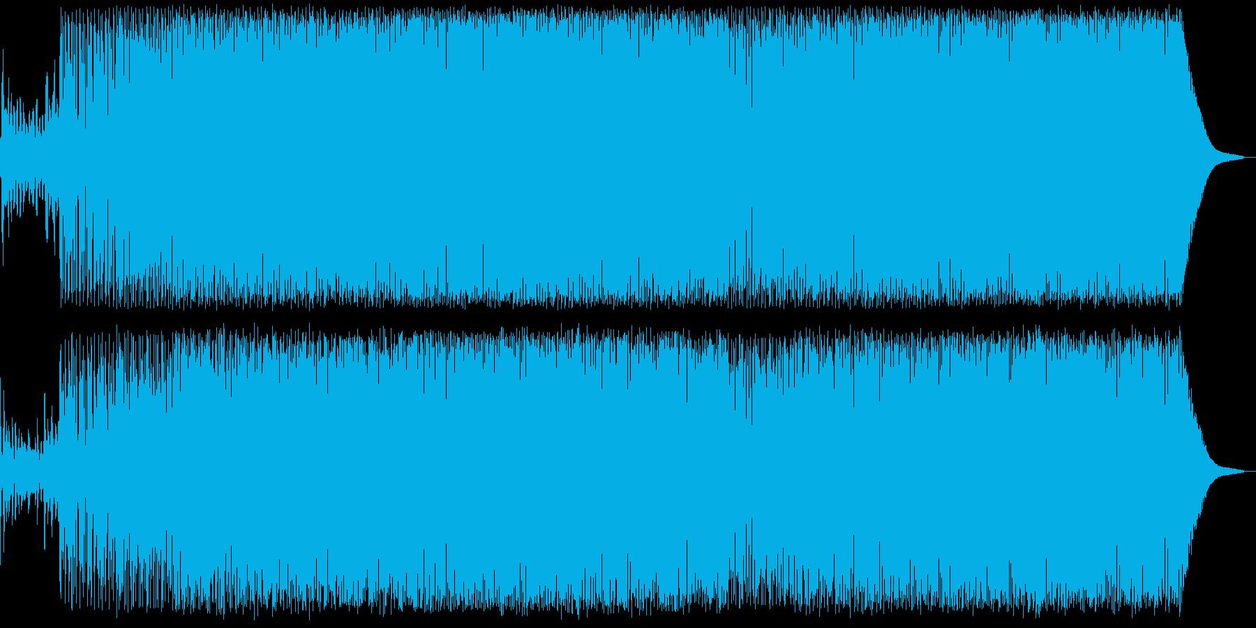 ピアノによるGarge Houseの再生済みの波形