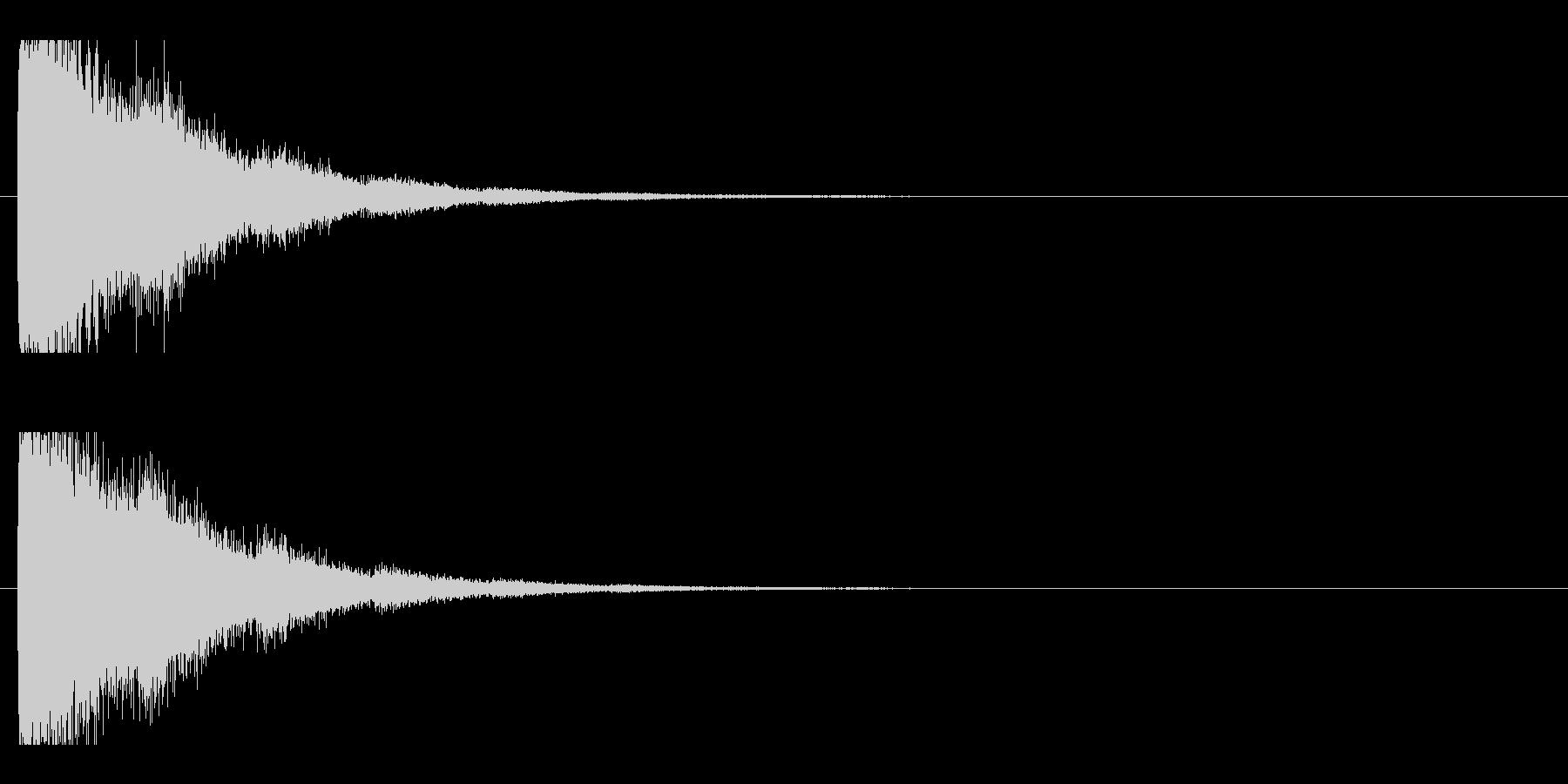 レーザー音-93-2の未再生の波形