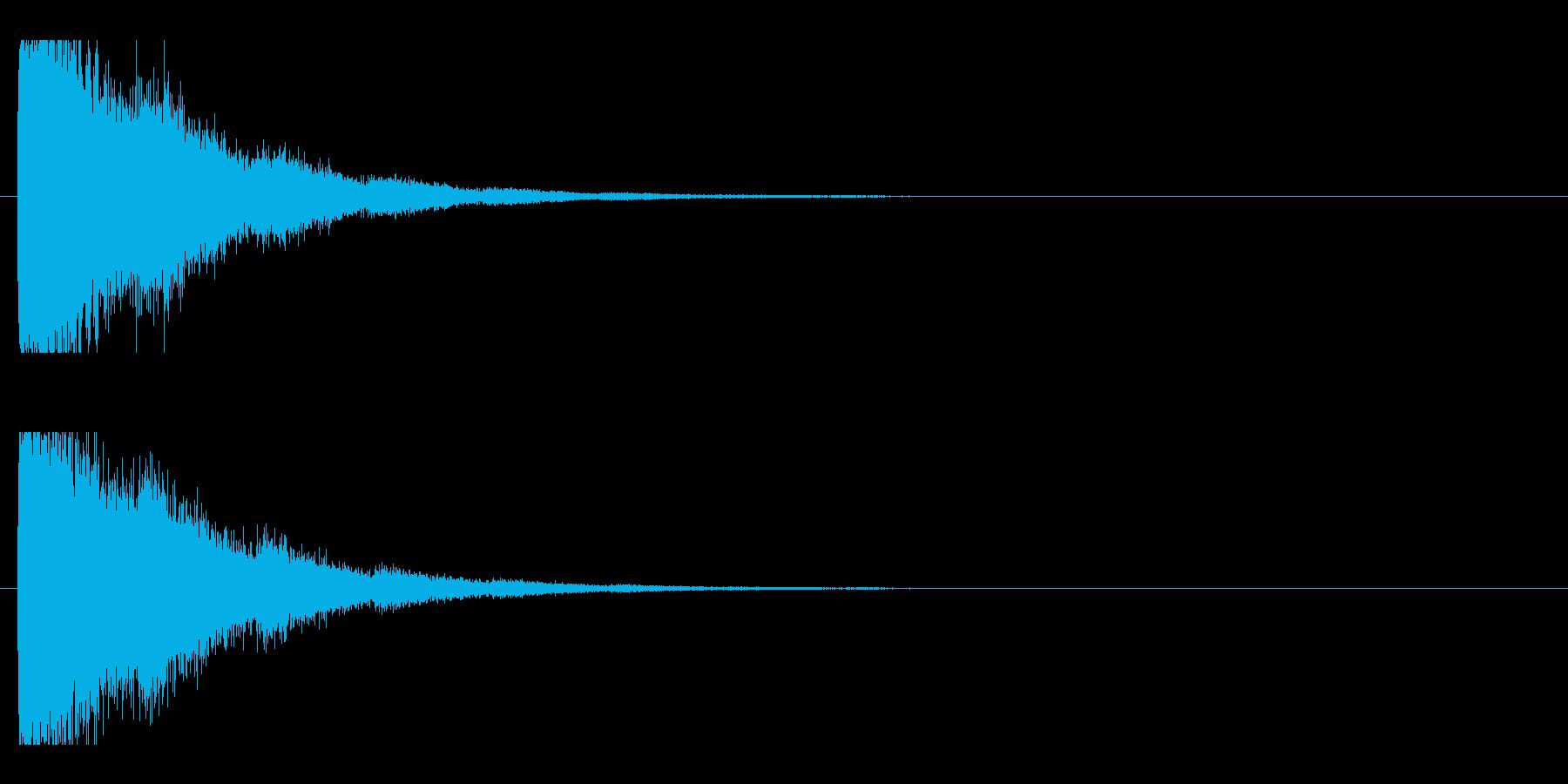 レーザー音-93-2の再生済みの波形