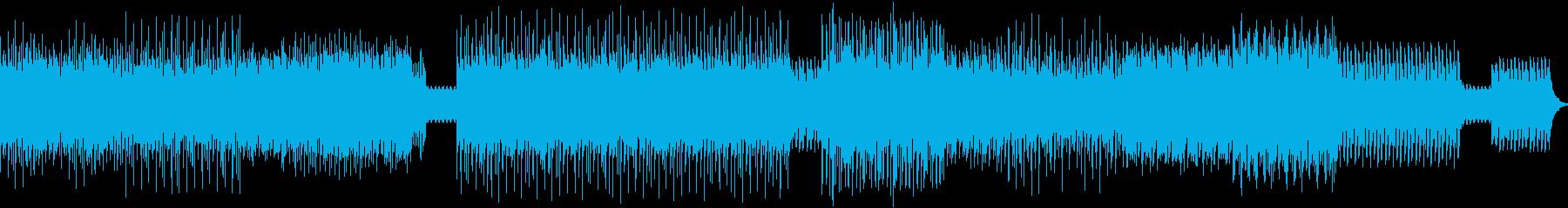 アップテンポクラブ音楽の再生済みの波形