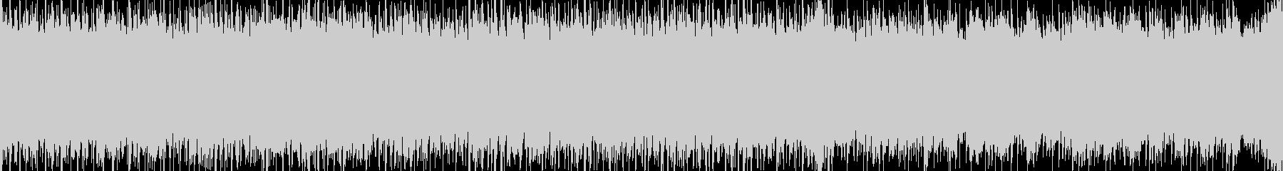 メロディ抜き ループ処理版の未再生の波形