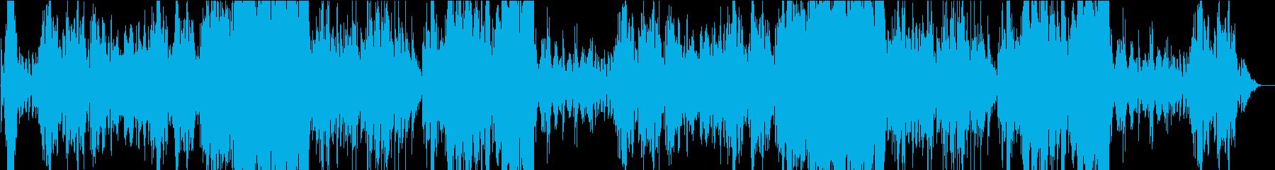 メルヘンでコミカルな木管のゴシック曲の再生済みの波形