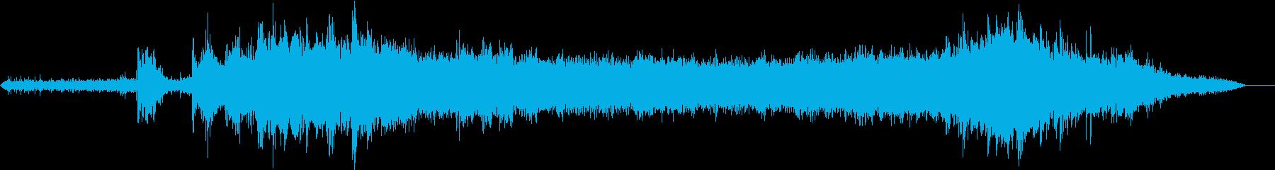 メトロアンデン、到着と出発の再生済みの波形