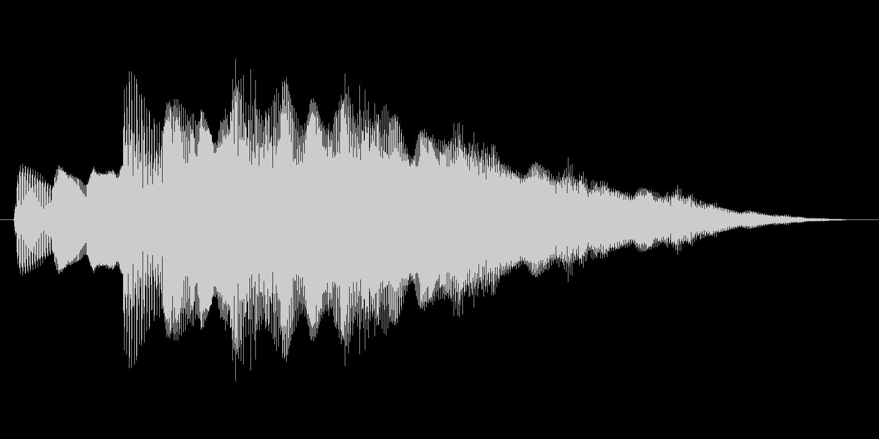 ファミコン風 台詞.ポップアップ系 02の未再生の波形