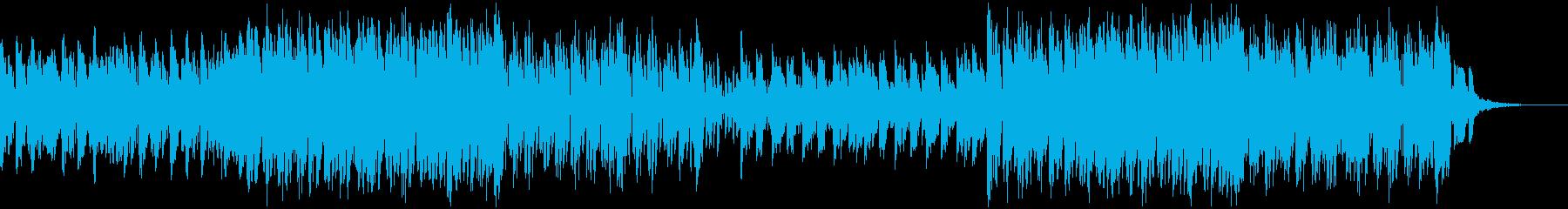 楽しげな和風テクノポップの再生済みの波形