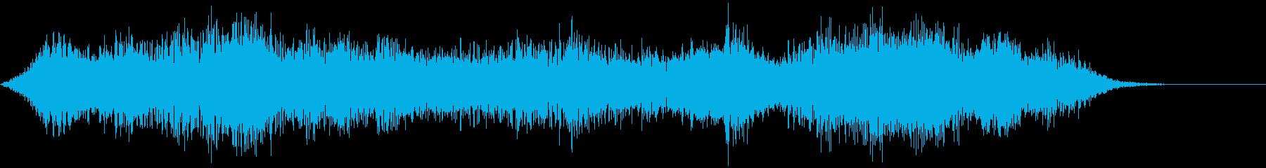 【ホラーゲーム】亡霊の叫びの再生済みの波形