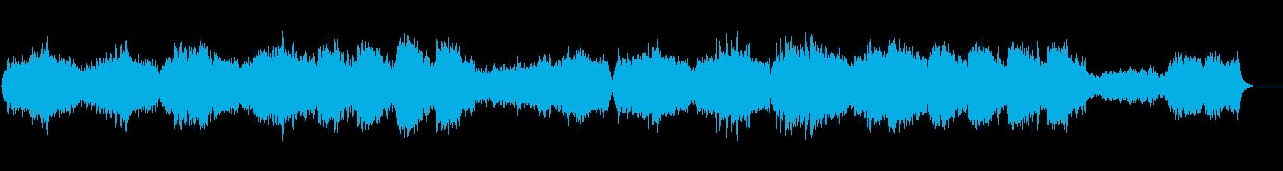 幸せな高揚弦楽器アンサンブル。弦の...の再生済みの波形