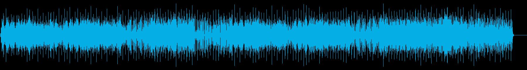 お洒落なフュージョン/ポップ/BGの再生済みの波形