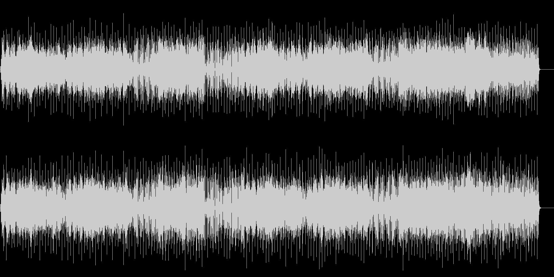 お洒落なフュージョン/ポップ/BGの未再生の波形