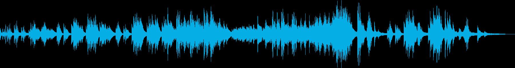 童謡「赤い靴」ピアノアレンジ の再生済みの波形