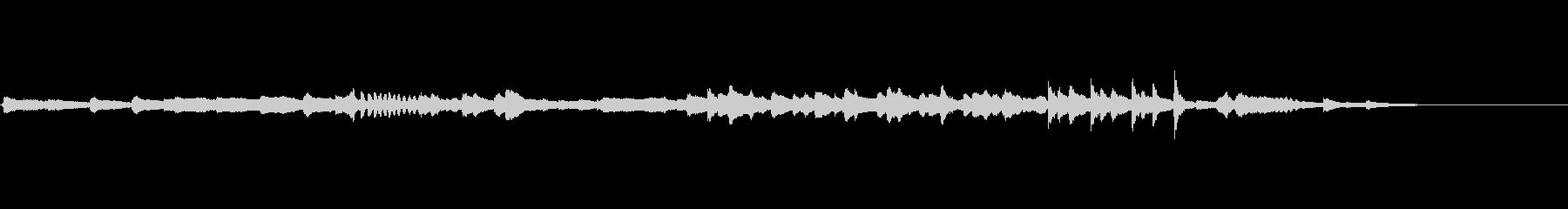 作曲家 Enokido 即興 アドリブ の未再生の波形