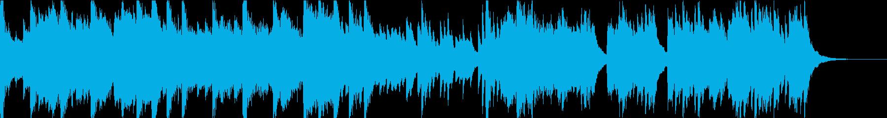 伝承を刻む巫女の唄 歌 和風 和楽器の再生済みの波形
