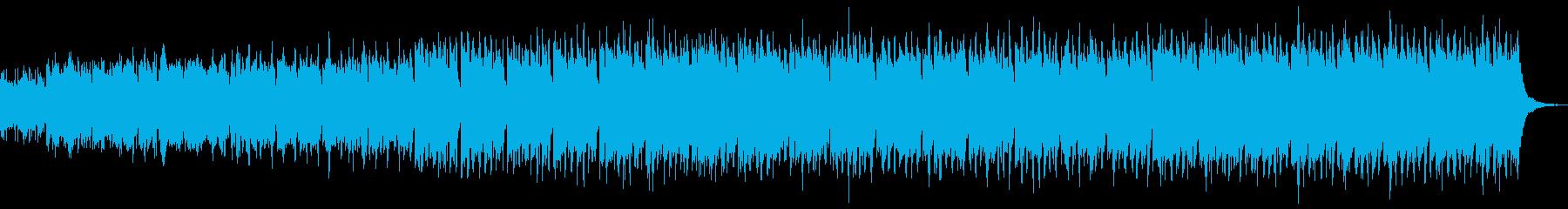 愉快なケルト音楽-おもちゃのパレード2の再生済みの波形