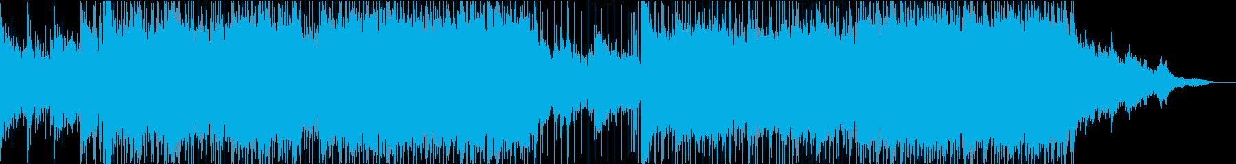 明るいアップテンポなギターポップの再生済みの波形