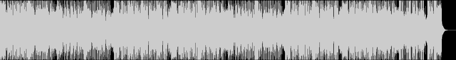 ダークなエレクトロの未再生の波形