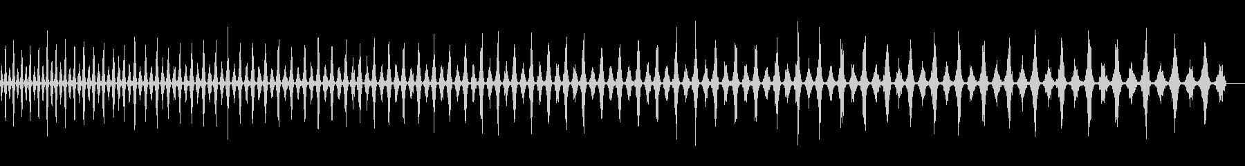 トーン宇宙船降順wavの未再生の波形
