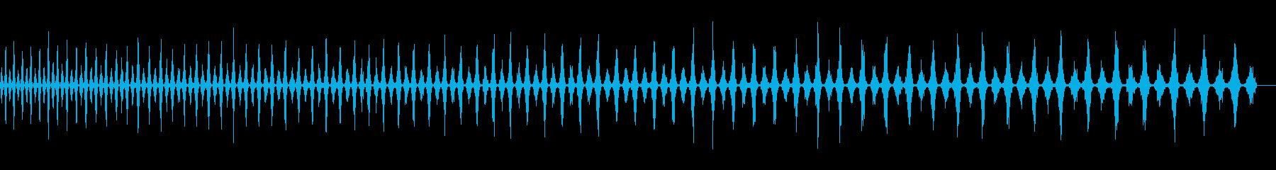 トーン宇宙船降順wavの再生済みの波形