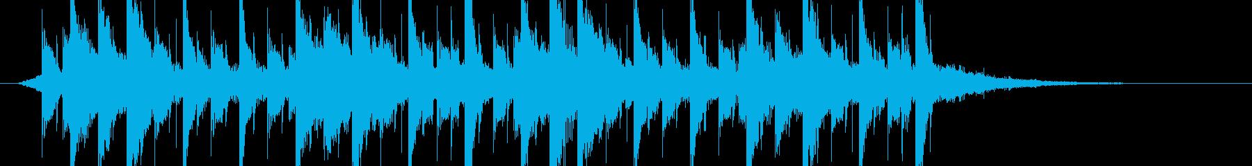 ティーン ポップ テクノ ラウンジ...の再生済みの波形