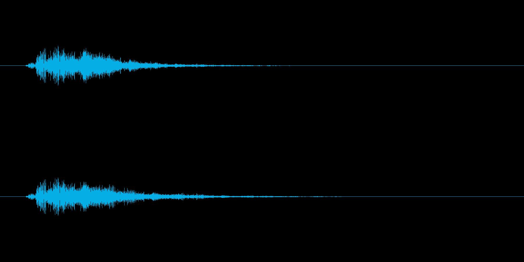 ウイン!(回復やステータス上昇など)の再生済みの波形