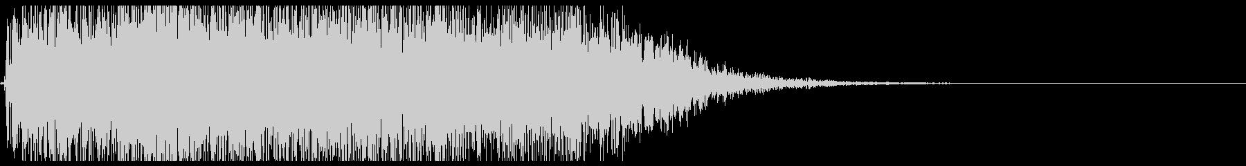 上昇音01の未再生の波形
