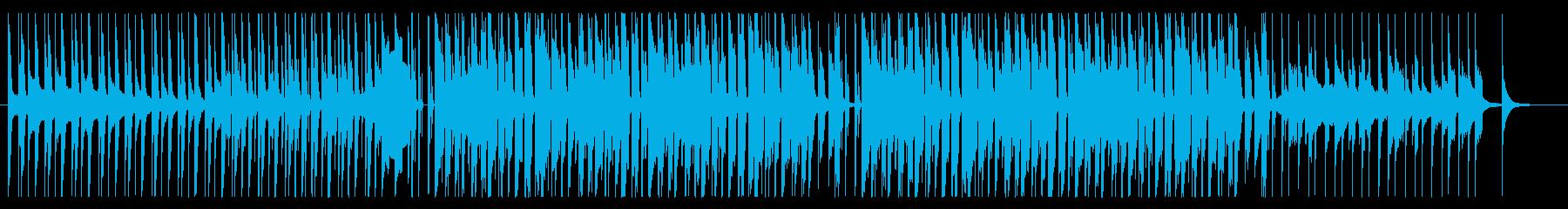 レゲトン、ラテン、ダンス系(短め)の再生済みの波形