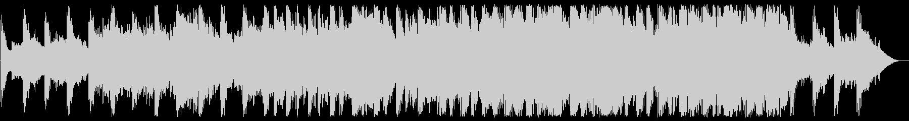 清らかなハープが印象的なBGMの未再生の波形