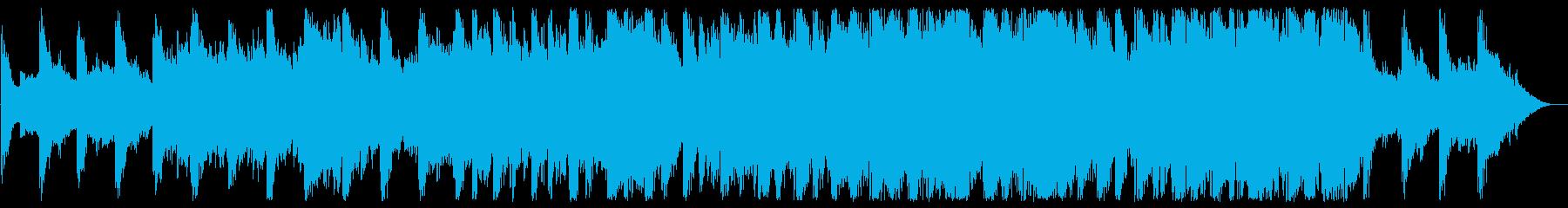 清らかなハープが印象的なBGMの再生済みの波形