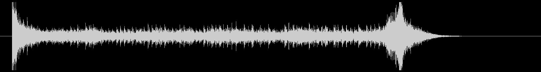 ティンパニーロール(8秒)の未再生の波形