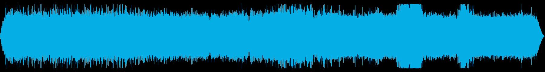 【自然音】滝01#2(山梨)の再生済みの波形