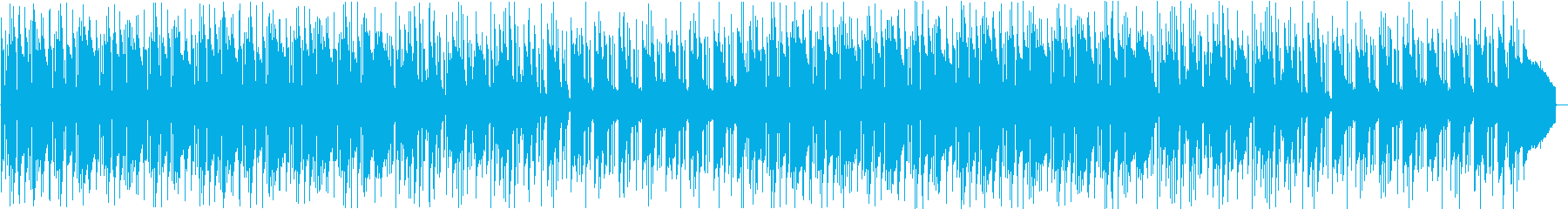 清潔感のあるゆったりしたピアノ曲の再生済みの波形