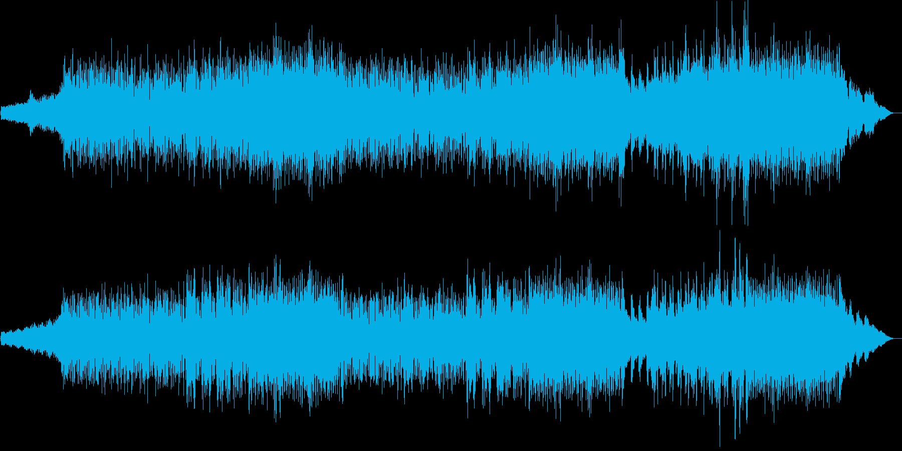 壮大な曲です。の再生済みの波形