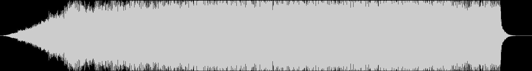 ピアノとギターのフレーズが切ないサウンドの未再生の波形